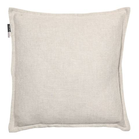 Malini Silver Cotton Cushion with Flange 45x45cm
