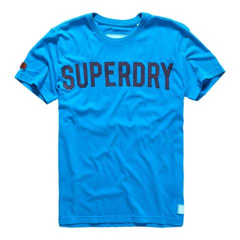 Superdry Blue Solo Sport Tee
