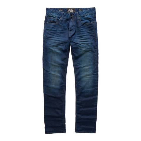 Superdry Indigo Corporat Stretch Slim Jeans