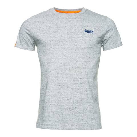Superdry Grey Orange Label Vintage Embellished Tee