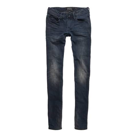 Superdry Navy Skinny Stretch Jeans