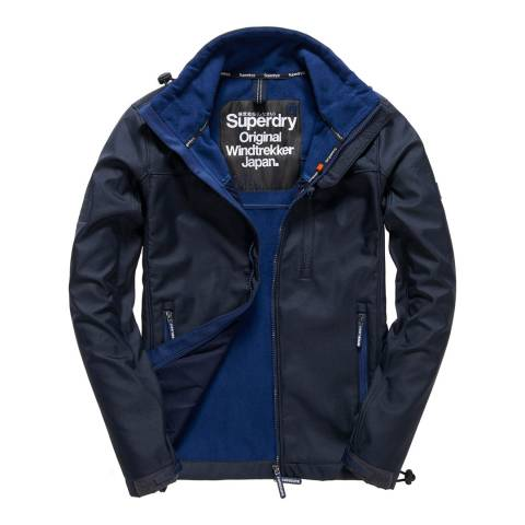Superdry Navy Windtrekker Jacket
