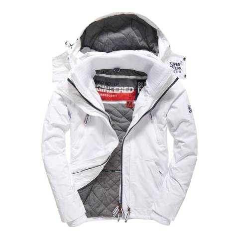 Superdry White Hooded Wind Yachter Jacket