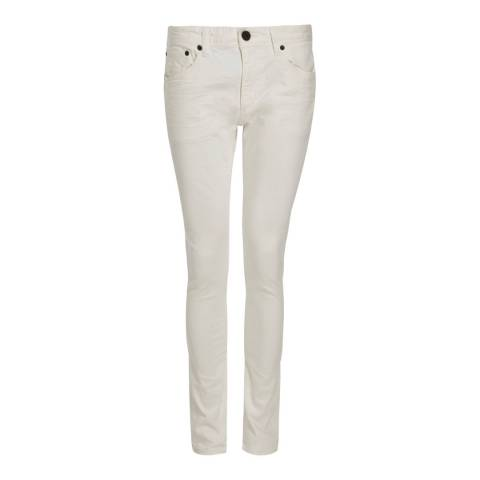 Superdry White Skinny Stretch Jeans