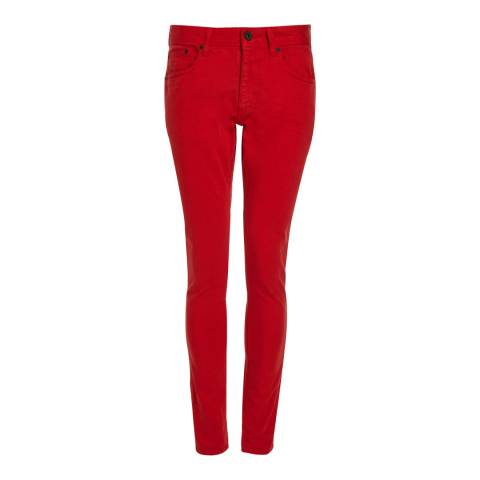 Superdry Red Skinny Stretch Jeans