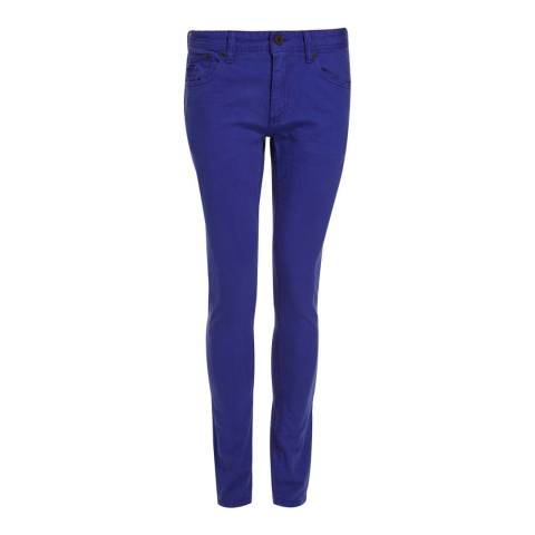 Superdry Royal Blue Skinny Stretch Jeans