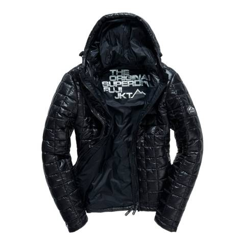 Superdry Black Box Wuilt Fuji Hooded Jacket