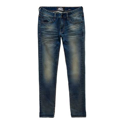 Superdry Indigo Skinny Stretch Jeans