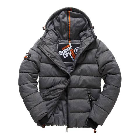 Superdry Black Sport Puffer Jackets