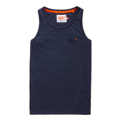 Superdry Navy Orange Label Vintage Vest