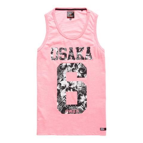 Superdry Pink Osaka 6 Infill Vest
