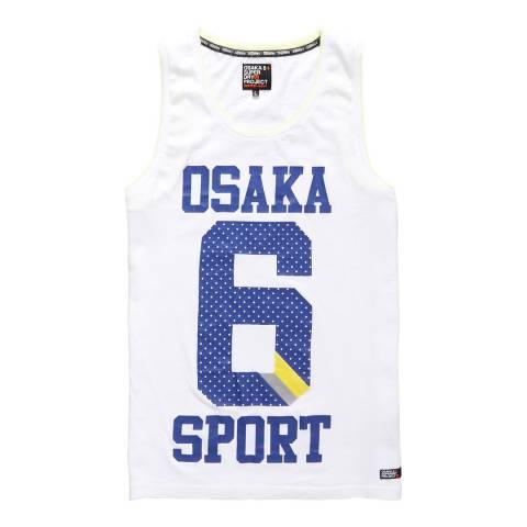 Superdry White Osaka 6 Infill Vest