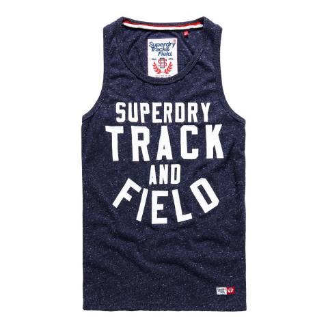 Superdry Navy Trackster Vest