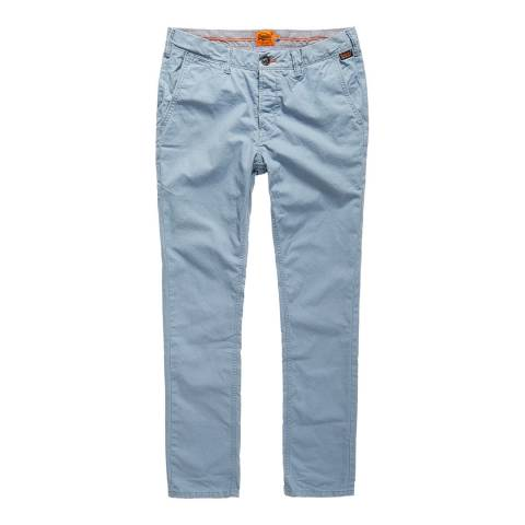 Superdry Blue Rookie Cotton Chinos