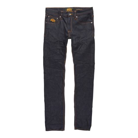 Superdry Indigo Corporal Slim Stretch Jeans