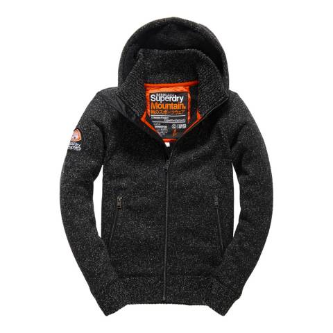 Superdry Black Expedition Zipped Hoodie