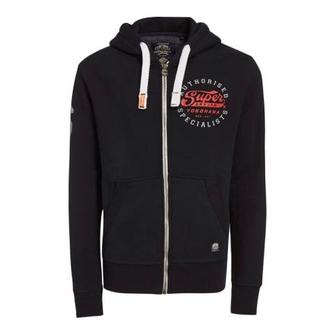 Superdry Navy Authorised Specialist Zipped Hoodie