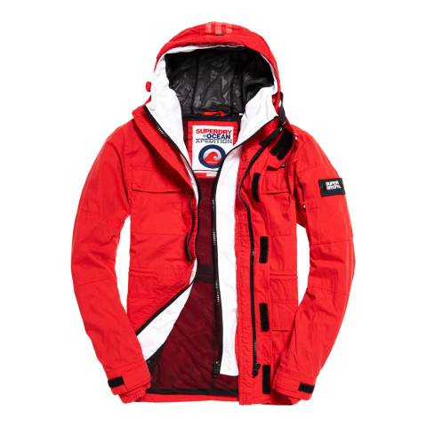 Superdry Red Sea Storm Jacket