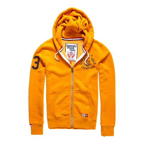 Superdry Track Gold Trackster Zipped Hoodie