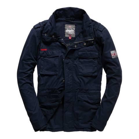 Superdry Navy Rookie Military Jacket