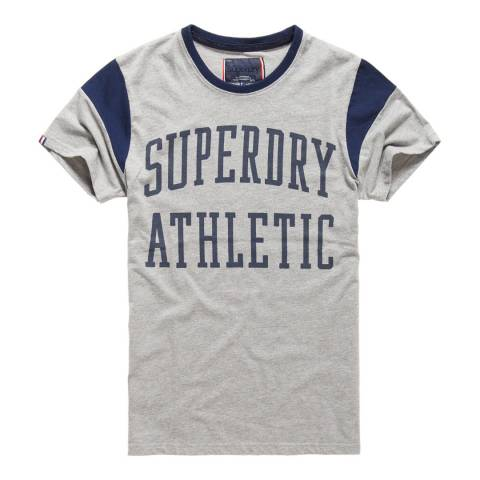 Superdry Grey Athletic Rebel Tee