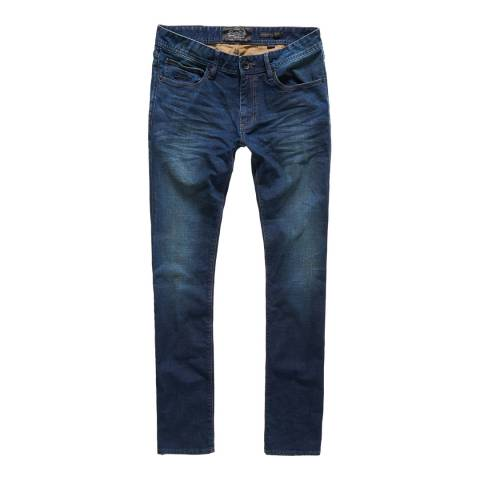 Superdry Indigo Denim Slim Fit Corporal Jeans