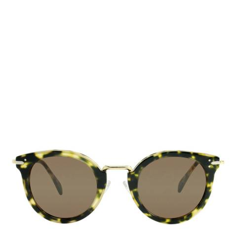 Celine Women's Tortoise Lea Sunglasses 48mm