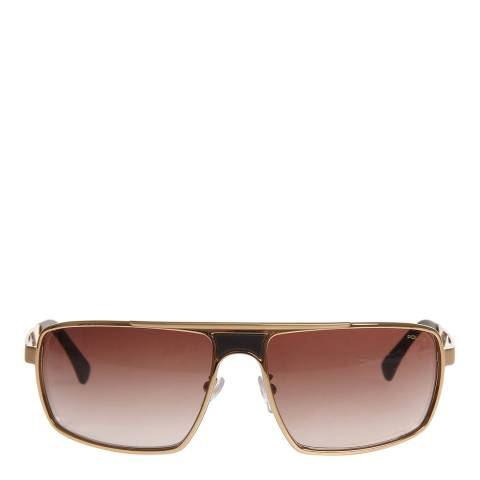 Police Men's Gold Sunglasses 61mm