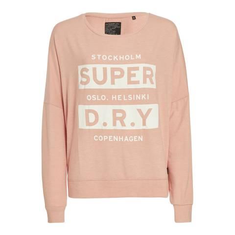 Superdry Blush Nordic Brushed Top