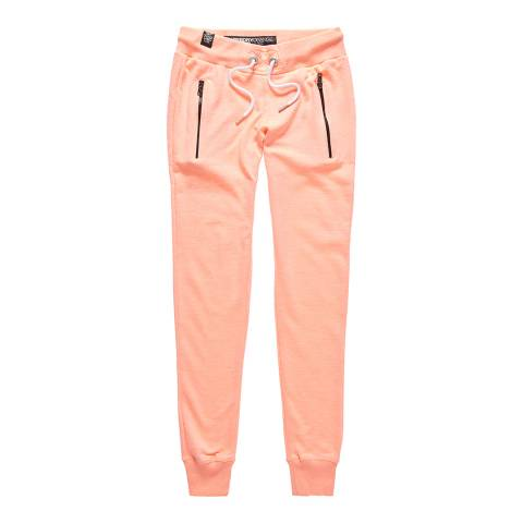 Superdry Coral Blossom Jaspe Luxe Lite Edition Slim Joggers