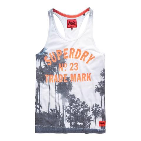 Superdry Optic/Mono Beach Club Photographic Vest