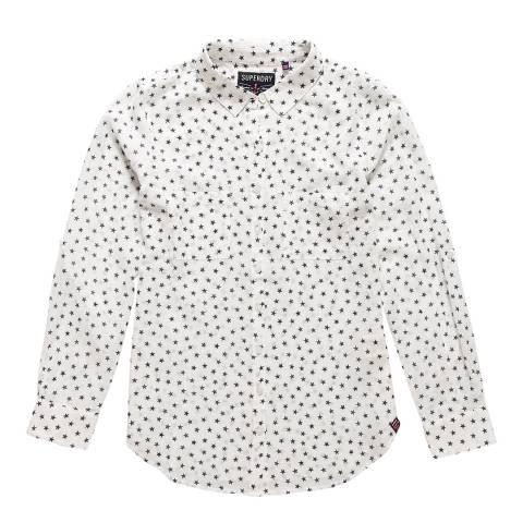 Superdry Mini Star White Sheer Regatta Shirt