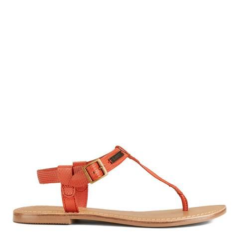 Superdry Women's Mango Orange Bondi Thong Sandal