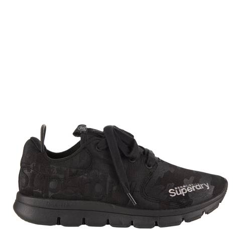 Superdry Black Camo SUPERDRY SCUBA RUNNER