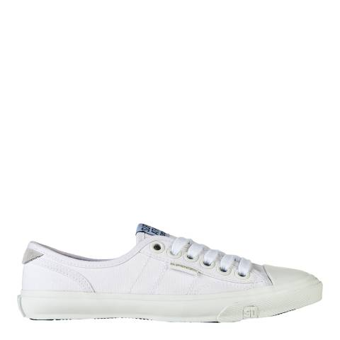 Superdry White/White LOW PRO SNEAKER