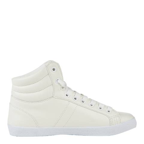 Superdry Optic White SUPER SLEEK LOGO HI