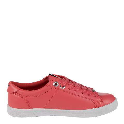 Superdry Women's Coral Super Sleek Logo Lace Up Sneakers