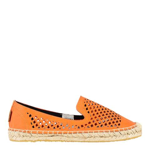 Superdry Women's Flame Coral Cecelia Cut Out Espadrilles