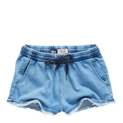 Superdry Stratchi Wash Runner Shorts