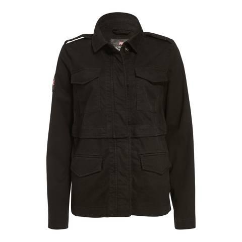 Superdry Black Rookie Split Jacket