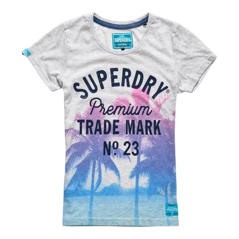 Superdry Ice Marl Photographic Entry T-Shirt