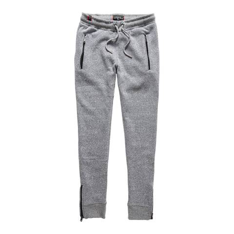 Superdry Dark Midwest Marl Luxe Fashion Joggers