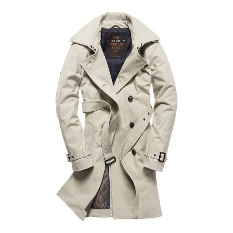 Superdry Stone Winter Belle Trench