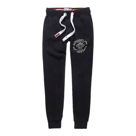 Superdry Black Luxe Super Skinny Joggers