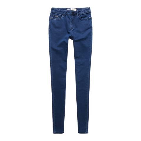 Superdry Electric Rinse Sophia High Waist Super Skinny Jeans