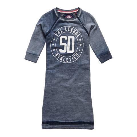 Superdry TRI LEAGUE CREW DRESS