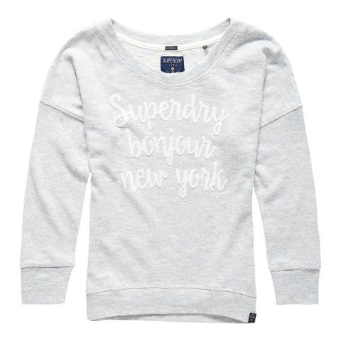 Superdry French Cornflower Castaway Relaxed Top