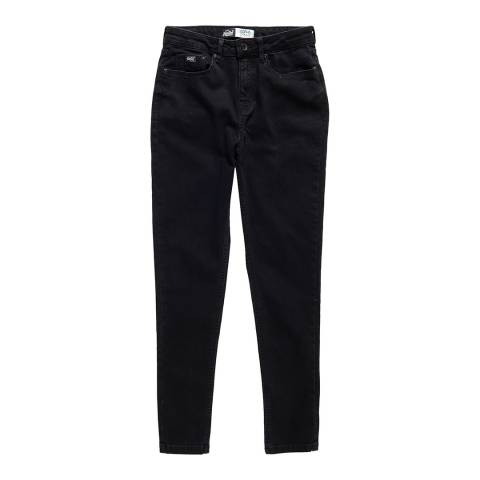 Superdry Black Sophia High Waist Super Skinny Jeans