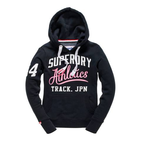Superdry Eclipse Navy Track & Field Hoodie
