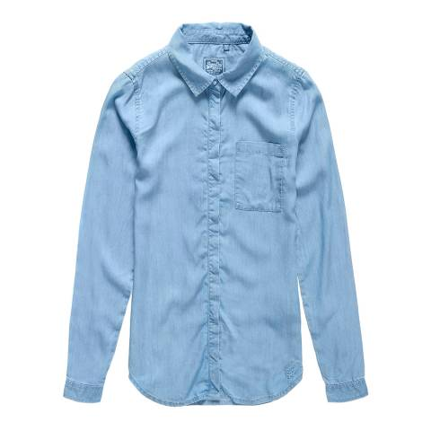 Superdry Light Wash Diana Tencel Shirt